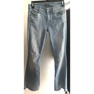 MOTHER Cruiser Fray Jeans